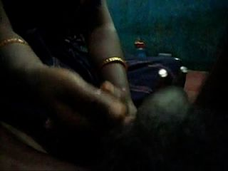 Tamil Aunty Holding The The Cock With Vessel Holder And Giving Very Fucking Oil Massage