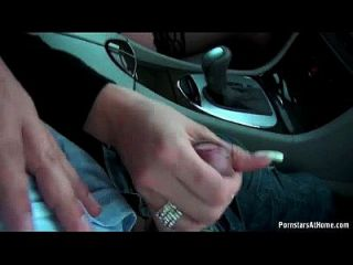 Celine Noiret Blow Her Man In The Car