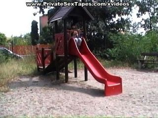 Kinky Couple Fucking Porn Action On The Playground