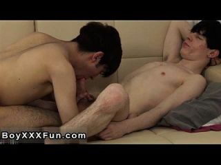 Gay Xxx Horny Uk Buds Suck Down Explosions Of Rock Hard Uncut Cock!
