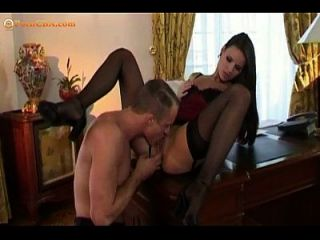 A Classic Secretary And Boss Affair
