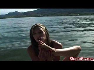 Kinky Canadian Milf Shanda Fay Gets Anal Creampie On Boat!
