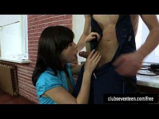 Teen In Braces Eva Gets Ass Fucked