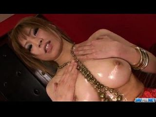 Busty Japanese Ai Sakura Plays With Pussy In Solo