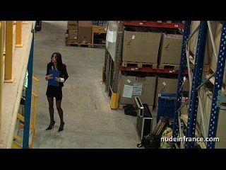 Busty French Mature Anal Pounded Hard In A Warehouse With Sexy Lingerie
