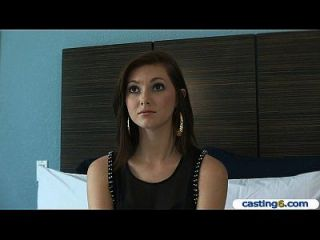 Natural Redhead Teen Amateur Gets Paid For Sex At A Casting
