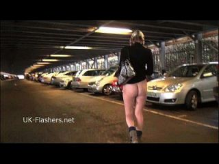 Blonde Deedees Flashing And Outdoor Masturbation Of Exhibitionist Milf In Public