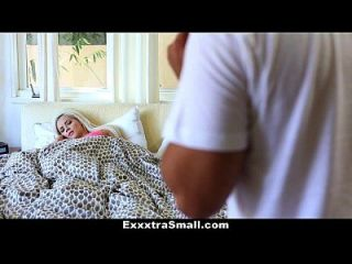 Exxxtrasmall - Tight Little Brat Fucks Neighbor
