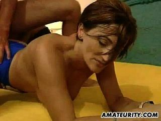 Amateur Milf Anal Fuck And Cum Eating
