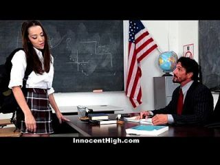 Innocenthigh - School Girl Desperate For Teacher