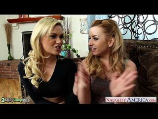 Beauty Blondes Lexi Belle And Mia Malkova Sharing A Big Cock - Pornhub.com