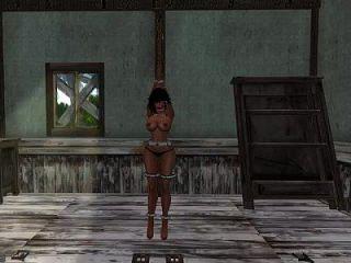 Slut Slave Stripped And Hard Bondage