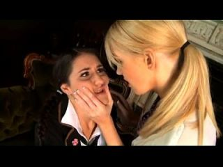 Schoolgirl Is Forced And Seduced By A Real Lesbian Www.katherinecams.com
