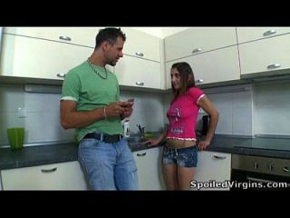 Ulia Gets Her Virgin Pussy Inspected By Her Doctor