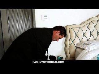 Familystrokes - Step Daughter Fucked By Pervert Dad