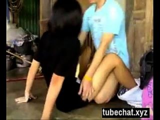 Pretty Short Haired Thai Girl Gets Fucked Video