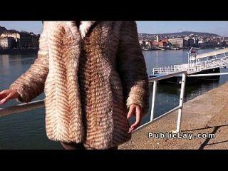 Busty Spanish Tourist Fucks Huge Cock
