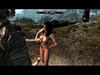 Skyrim Giant Violation