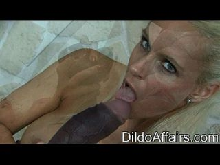 Dildoaffairs - Sophie Logan With Two Chocolate Cock Preview