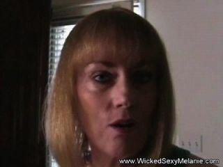 Milf Melanie Handjob Cuckold Jerk