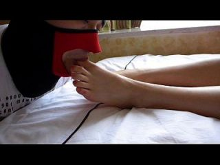 Hot Chinese Footjob (jun)