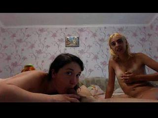 Amater Threesome On Webcam - Cam69-girls.com