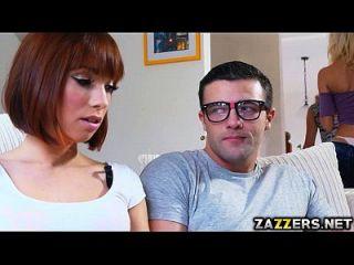 Big Titted Milf Tia Stroked Maxs Dick
