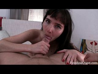 Firstanalquest.com - First Time Anal Sex With The Inexperienced Teen Lita Black