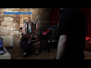 Czech Newbie Does Sexy Lapdance For A Stranger
