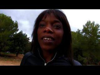 Kenya Diaw Fucked In The Woods