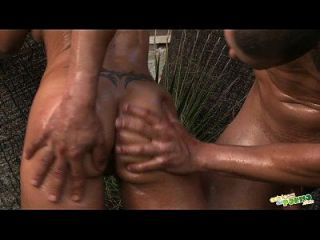 Follando Bajo La Palmera - Spanish Sex - Full Scene