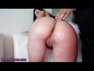Bigass Teen Face Jizzed