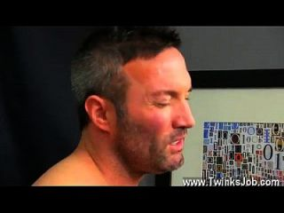 Gay Cum Facials Porn He Gets On His Knees And Deep Throats Brock