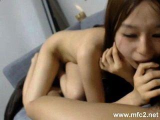 Cute Korean Blowjob For Her Boyfriend