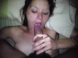 Amateur Wife She Sucks Cock Like A Pro!  Please Comment!