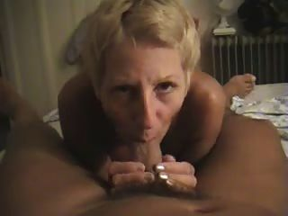 Nudist Filming His Wife Giving Him A Blowjob At Home