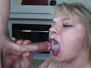Spitting mistress spits food into slaves face 3