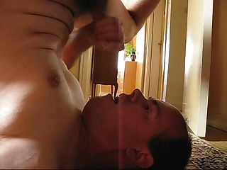 Cumming In My Mouth And Swallow My Own Cum