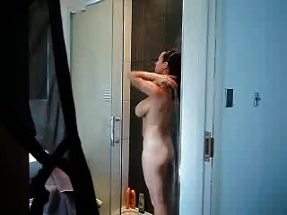 Watching Mommy In The Shower