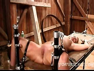 Extreme Pussy Whipping On The Torture Table
