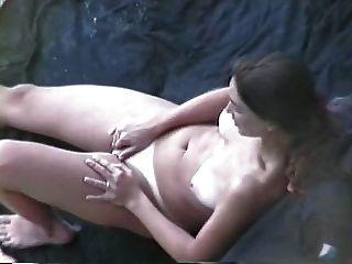 Woman Masturbates And Fucks