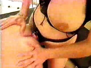 Girl Fucks Guy With Big Strapon