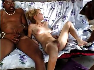 Shy Wife Rebecca Starr Fucked By 2 Bbc Near Cuckold Husband