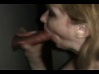 Real Blonde Amatuer Glory Hole Slut