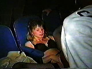 Slut Wife Gangbanged In Theater - Cireman