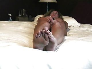 Real Orgasm Home Alone In The Bedroom