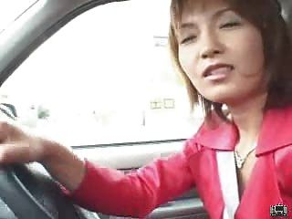 Japanese Milf Uses A Remote Control Vibrator In Public And Blows
