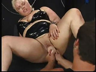 German Bbw - Fist - Squirt - Assfuck Rough