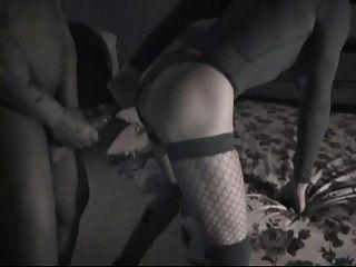 Trans Vanessa Fucking A Black Cock