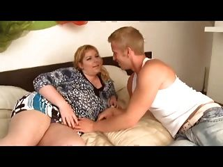 Mature Bbw Fucks Young Boy